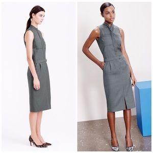 J Crew patch pocket dress in super-120s wool 8